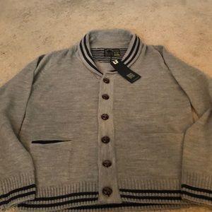 Men's button down cardigan